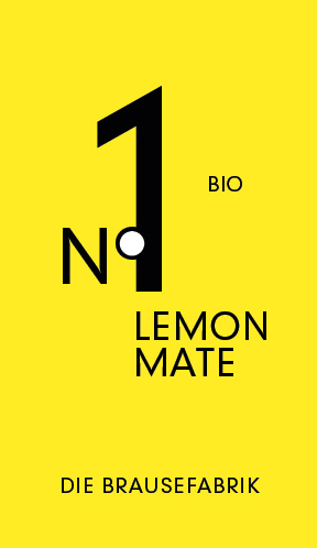 No.1 Bio Lemon Mate – DIE BRAUSEFABRIK